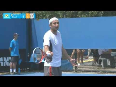 Matosevic v Groth full match part 2: Australian Open Play-off 2012