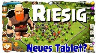 RIESIG AUF RATHAUS 7 - TABLET ZU LAHM? 📲| Clash of Clans Deutsch | Let´s Play COC