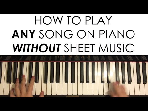 How to Play ANY Song on Piano WITHOUT Sheet Music (Part 1)