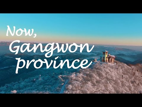 Now, Gangwon province. -ENG image