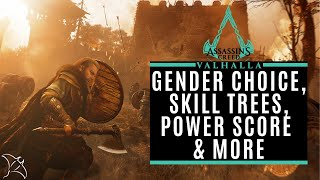Gender Choice, Skill Trees, Cinematic Camera, Odin Sight & More | Assassin's Creed Valhalla