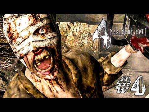 БАБКИ, БЕНЗОПИЛЫ, БОСС! ► Resident Evil 4 Прохождение #4 ► ХОРРОР ИГРА