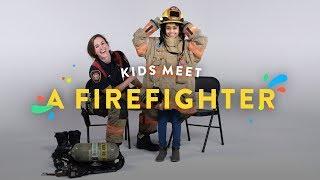 Kids Meet a Fire Fighter | Kids Meet | HiHo Kids