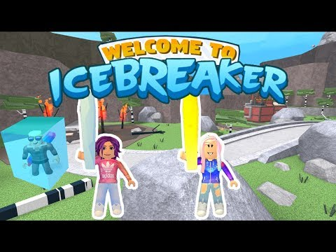 Icebreaker Roblox Id Roblox Icebreaker Team Freeze Tag Youtube