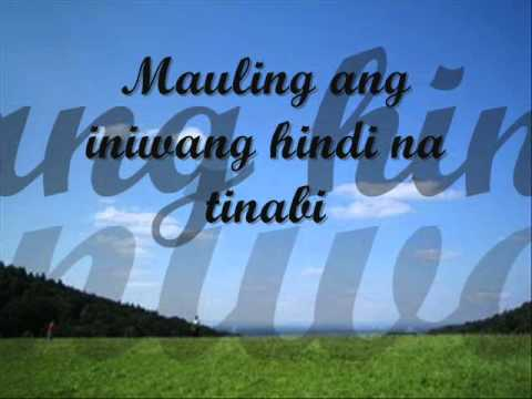 Saranggola ni Pepe with Lyrics by Celeste Legaspi