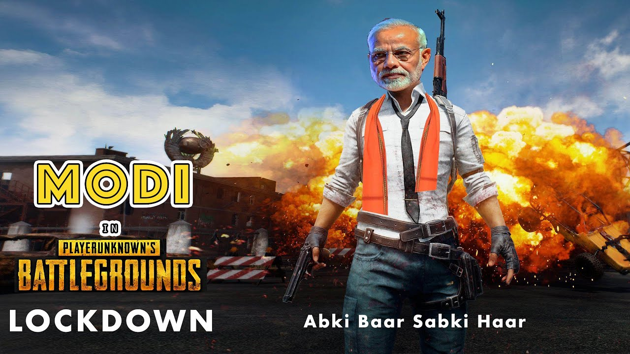 MODI G in PUBG for LOCKDOWN