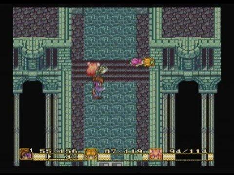 Secret of Mana Wii VC - Spikey Tiger Boss