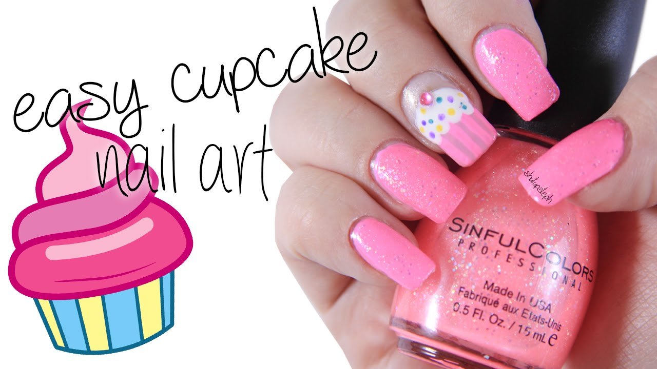 Easy cupcake nail art shutupsteph youtube easy cupcake nail art shutupsteph prinsesfo Gallery