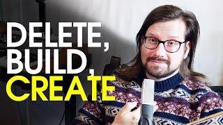 Patron Q+A November: Delete, build, create