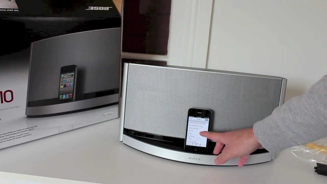 bose sounddock 10 bluetooth unboxing and quick review youtube. Black Bedroom Furniture Sets. Home Design Ideas