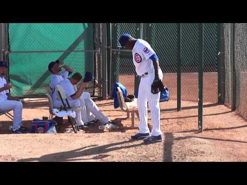 2012 Cubs Spring Training - Rafael Dolis