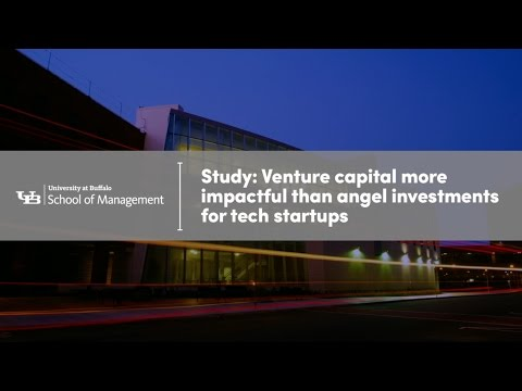 Study: Venture capital more impactful than angel investments for tech startups