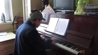 """Тема из сериала """"Шерлок"""" на фортепиано в собственном исполнении"""