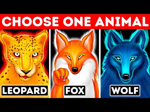 Pick One of the Animals and Discover Your Hidden Talent