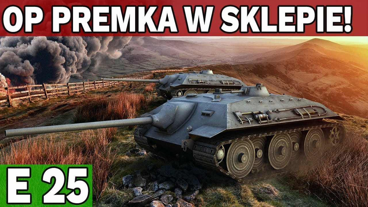 E25 w SKLEPIE! – KALENDARZ ADWENTOWY  – World of Tanks