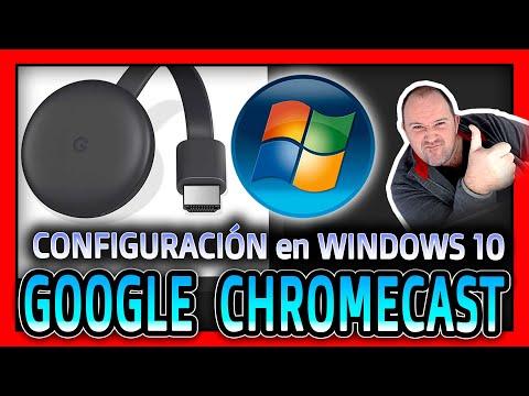 Como Configurar Google Chromecast Con Tu Ordenador PC - 2020 - Video 2