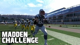 Can Dan Connolly get a Kick Return TD? - Madden Challenge