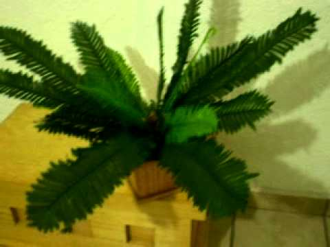 Plantas artificiales y arboles de decoraci n youtube for Plantas de interior artificiales