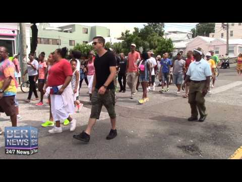 2015 Bermuda Labour Day March, September 7 2015