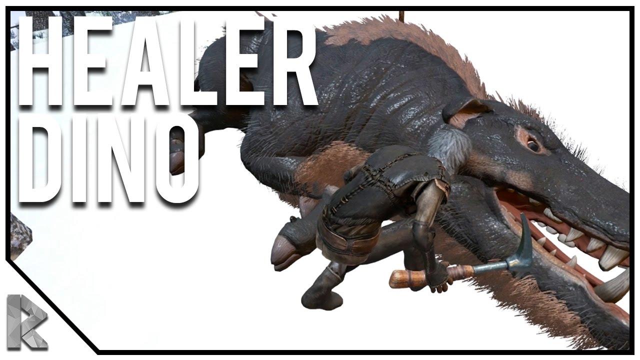 DAEODON HEALER DINOSAUR TAME! - Ark Survival Evolved Island No Fliers PVP #3