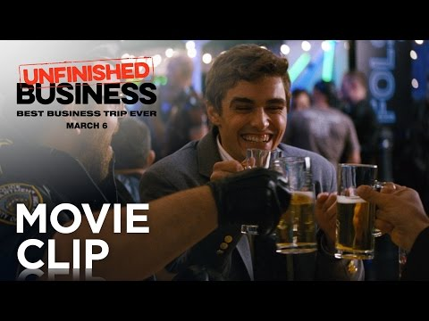 """Unfinished Business   """"Tequila Slaps"""" Clip [HD]   20th Century FOX"""