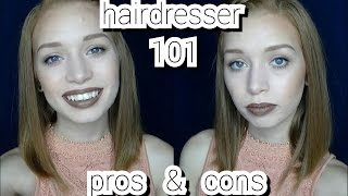 Being a Hairdresser - Pros and Cons