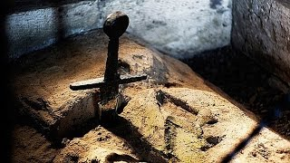 The Legendary 'Sword in The Stone' IS REAL & You Can Visit It Thumb