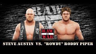 WWE 2K19 (Xbox One S)  Stone Cold Steve Austin vs Roddy Piper.
