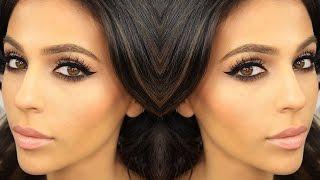 smokey eye makeup winged eyeliner   eye makeup tutorial   teni panosian