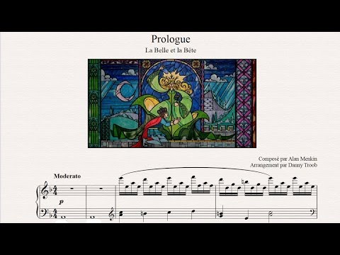 Prologue - Beauty And The Beast (piano sheet music)