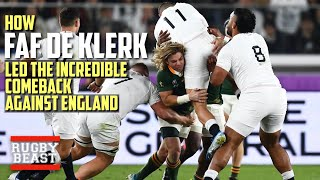 How Faf De Klerk led the incredible comeback against England