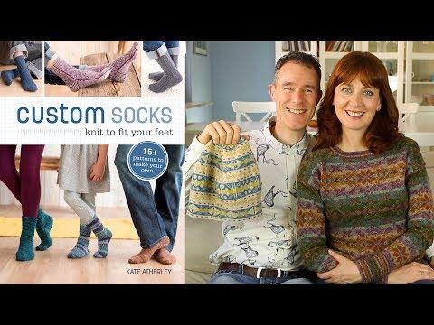 EYF Founders & Custom Sock Knitting - Ep. 51 - Fruity Knitting Podcast