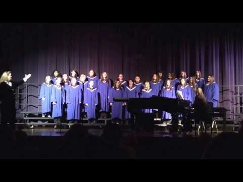 Centerville Sr High School Jazz, Advanced Women's and combined Sr/Jr High Choir.