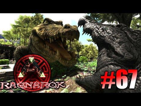 ARK: Ragnarok #67 - Puru, die riesen Bestie & den Deinosuchus zähmen! | LP Ark Deutsch