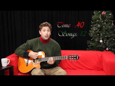 30 Christmas Songs in 60 Seconds - One Minute Mashup #1