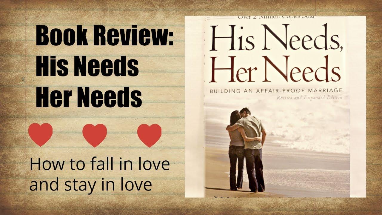 Needs her book needs his