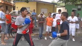 El fother vs el zurdo boxeo callejero