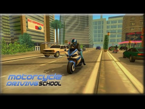 Motorcycle Driving School - Android Gameplay [1080p]