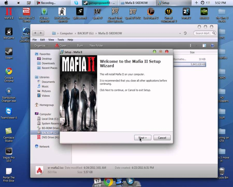 Mafia 2 скачать exe файл для pc