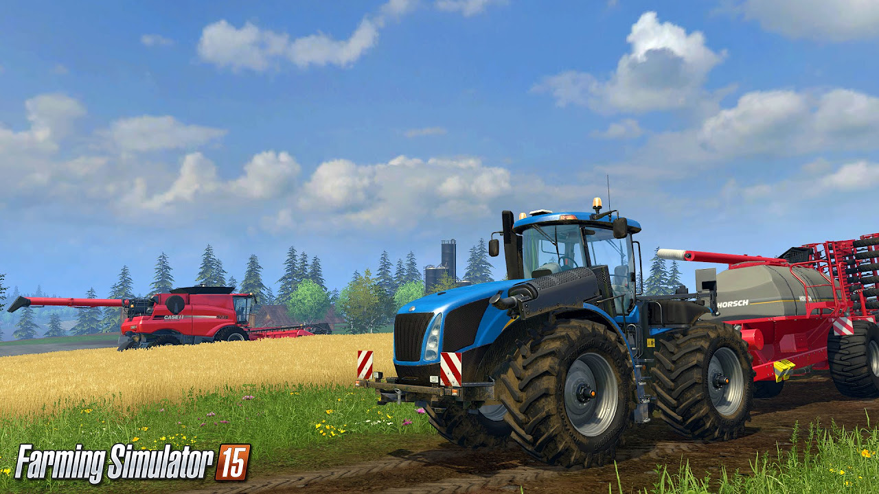 Farming Simulator 2015 - Yeni Oyunda Kolay Para Kazanma