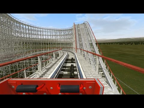 Roller Coaster Simulation. NoLimits 2 Gameplay