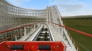 Roller Coaster Simulation. NoLimits 2 gameplay