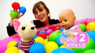 Show Comme maman: épisode #2 - Vidéo pour enfants - Jeux avec Bébé Born Emily