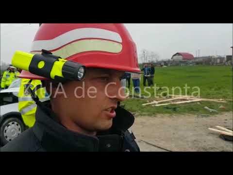 Accidentul grav de pe DN 3 Constanța-Valu lui Traian