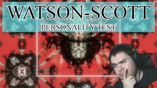 The Watson-Scott Personality Test   Horror Game October