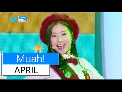 [HOT] APRIL - Muah!, 에이프릴 - 무아!, Show Music core 20151219