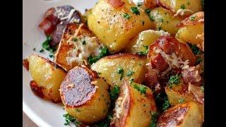 Картошка по - домашнему.Вкусно и очень просто.Видео-РЕЦЕПТ