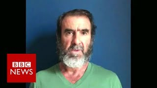 Manchester attack: Eric Cantona's emotional message to the city - BBC News