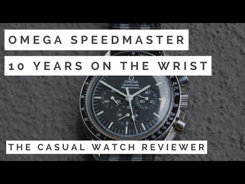 Omega Speedmaster Review: 10 Years on the Wrist
