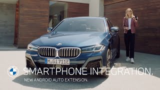 Smartphone Integration. New Android Auto extension.